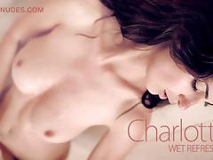 Charlotta in Wet Refreshment - MCNudes