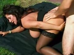 Pornstar, Big Tits, Brunette, Facial, Mature, MILF