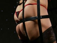 Caught, Angry, BDSM, Caught, Lingerie, Nylon