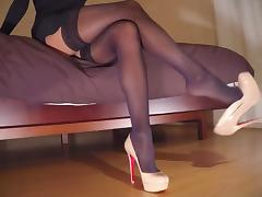 Boots, Boots, Heels, Homemade, Shoes, Stockings