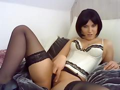 Webcam, Amateur, Fetish, German, Masturbation, Stockings
