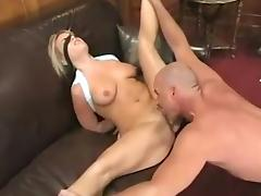 Incredible Homemade movie with Cunnilingus, MILF scenes