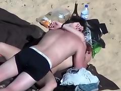 Caught, Beach, Boobs, Caught, Comic, Funny