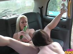Backseat, Babe, Backseat, Big Tits, Blonde, Car