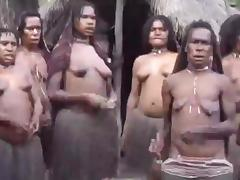 African, African, Black, Ebony, Topless