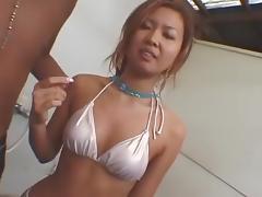 Bikini, Asian, Bath, Bathing, Bathroom, Beach