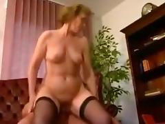 Amazing Amateur video with Vintage, Blonde scenes