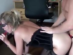 Blonde, Big Cock, Blonde, Deepthroat, Dildo, Extreme