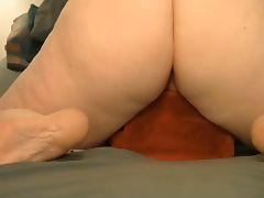 Vibrator and pillow hump