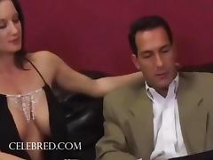 Stephanie Wylde Big titted Brunette Stephanie Screws Hunk Anal Licking Blowjob