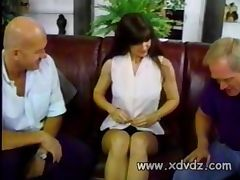 Gina Rome Does A MMF Amateur Video With A Couple Old Gray Haired Dudes