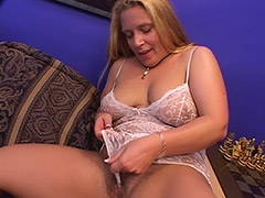 Lusty Fat Babe with a Hairy Bush Sucks on Cock and gets a Great Anal Sex in Exchange