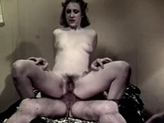 Crazy Stepfather Loves Anal Sex 1960