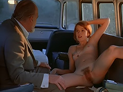 Sex addicted Chick Fucks in a Bus 1970