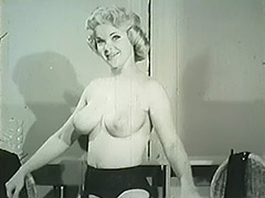 All, Ass, Blonde, Classic, Vintage, 1950