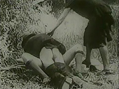 Peeing Girls Fucked by Driver in Nature 1920