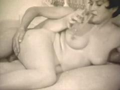Historic Porn, Ass, Blowjob, Brunette, Classic, Cumshot