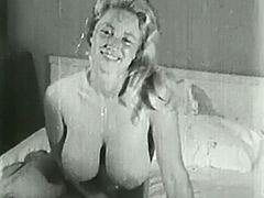 1950, Ass, Blonde, Classic, Teen, Voyeur