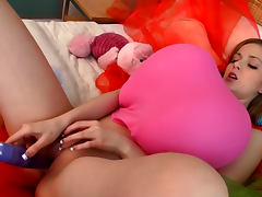 Balloon, Balloon, Cute, Dildo, Funny, Masturbation