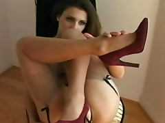 Underwear, Babe, Erotic, Feet, Fetish, Heels