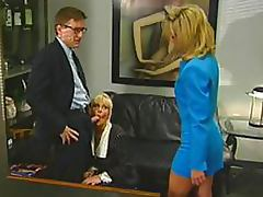 3some, Bitch, Blonde, Blowjob, Boss, Hooker