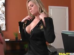 Office, Babe, Blonde, Blowjob, Office, Penis