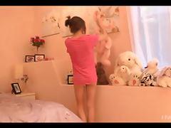 Bedroom, Babe, Bed, Bedroom, Brunette, Close Up