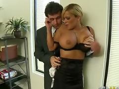 Rough Anal Sex For The Big Tittied Blonde Shyla Stylez video