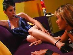 High heels lesbian foot fetish craving