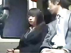 Bus, 18 19 Teens, Amateur, Asian, Blowjob, Bus
