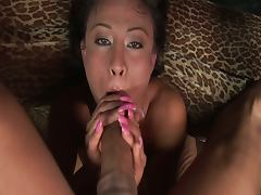 Jayna oso gets facefucked by a big cock