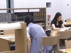 Japanese Sweetheart Fucked In The Library