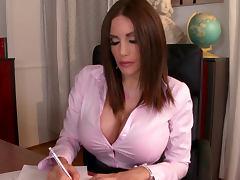 All, Big Tits, Blowjob, Brunette, Cumshot, Pornstar