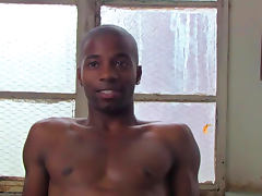 Cute black man JJ Hardy is talking dirty on the cam