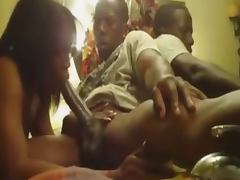 Ebony Wife Gives BBC A Head