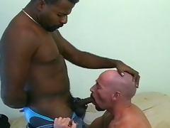 Interracial gay barebacking