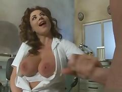 Gorgeous nurse Roberta Gemma has perfect anal sex with her patient