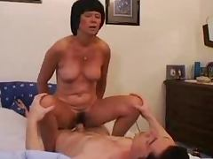French grandma wants to get her snatch pleased
