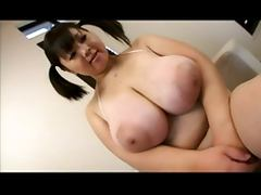 Japanese bbw showing