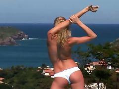 Flexible Eva Sunshine Anal By The Pool aka Hanna's Honeypot
