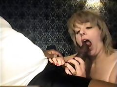 Swinger wife eating the bbc