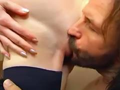Lewd non professional older mother drilled hard by her son's ally