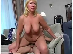 Granny, Granny, Mature, Saggy Tits