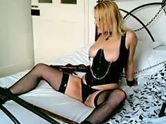 British, BDSM, Blonde, British, Whore, Handcuffs
