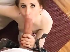 Teen Takes On Monster Cock
