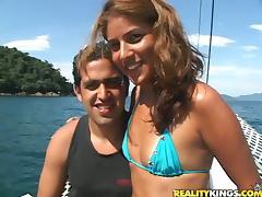 Boat, Babe, Bikini, Blowjob, Boat, Couple