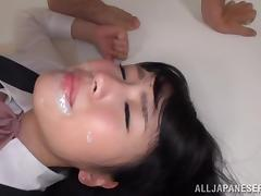 Japanese, Asian, Couple, Cum in Mouth, Cumshot, Doggystyle