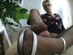 Nylon FootJob (420)