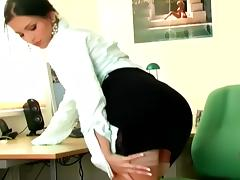 Office, Babe, Boobs, Cute, Fetish, Glamour