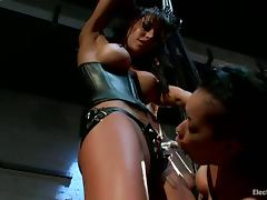 All, BDSM, Bondage, Brunette, Femdom, Strapon
